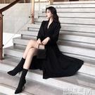洋裝春裝女新款chic名媛風性感修身百搭...