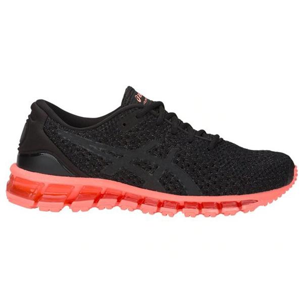 ASICS GEL-QUANTUM 360 KNIT 2 女鞋 慢跑 包覆 緩衝 機能 支撐 舒適 透氣 黑【運動世界】1022A041-001
