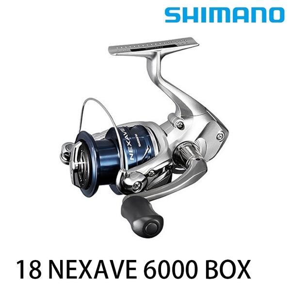 漁拓釣具 SHIMANO 18 NEXAVE 6000 BOX [紡車捲線器]