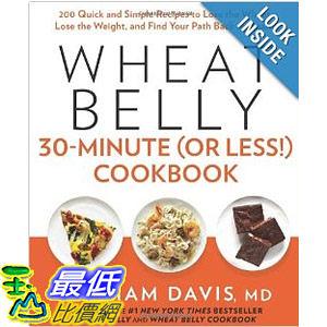 【103玉山網】 2014 美國銷書榜單 Wheat Belly 30-Minute (Or Less!) Cookbook  $908