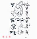 薇嘉雅  佛手  超炫圖案紋身貼紙 RF013