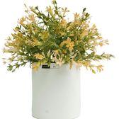 北歐仿真植物盆景家居客廳擺件裝飾品小清新盆栽花卉仿真假花套裝第七公社
