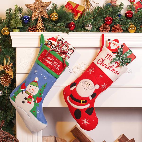 聖誕禮品12  聖誕樹裝飾品 禮品派對 裝飾 聖誕襪 禮物袋