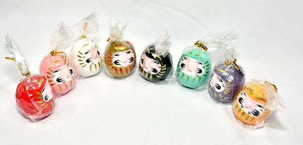 日本製 8色 開運 彩繪 達摩 福神 不倒翁