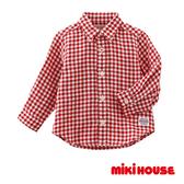 MIKI HOUSE 經典格子襯衫