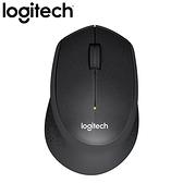 Logitech 羅技 M331 無線靜音滑鼠 黑【送羅技滑鼠墊】