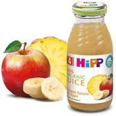 Hipp 喜寶有 機綜合蘋果鳳梨汁200mlX 6罐 434元