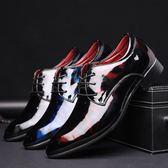 大尺碼皮鞋 英倫風系帶男鞋 尖頭休閒鞋 【非凡上品】nx2534