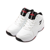 DIADORA 2E 皮面高筒籃球鞋 白 DA9AMB7379 男鞋 鞋全家福