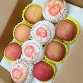【新鮮水果】日本蜜富士蘋果6顆+韓國梨4顆共10顆(大禮盒組)