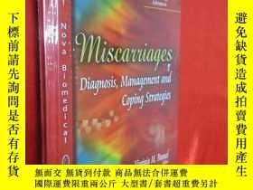 二手書博民逛書店Miscarriages:罕見Diagnosis, Manage