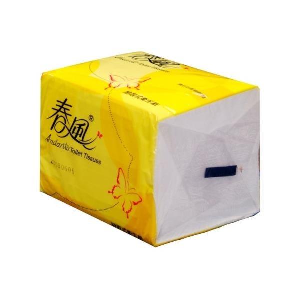 【南紡購物中心】春風-單抽式抽取式衛生紙 250抽x48包/箱