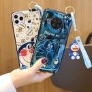毆珀Find X3 Pro保護殼 oppo斜挎腕帶保護套 OPPO Find X3 PRO手機套 情侶卡通可愛find x3pro手機殼
