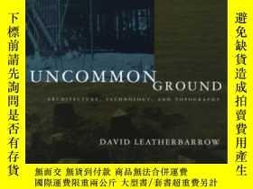 二手書博民逛書店Uncommon罕見GroundY364682 David Leatherbarrow The Mit Pre