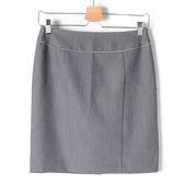 【MASTINA】簡約包編修身窄裙-灰 精選單一價