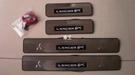 【車王汽車精品百貨】三菱 Mitsubishi Lancer Fortis 迎賓踏板 防刮板 門檻條 LED 冷光