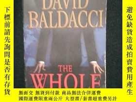 二手書博民逛書店DAVID罕見BALDACCI THE WHOLE TRUTHY