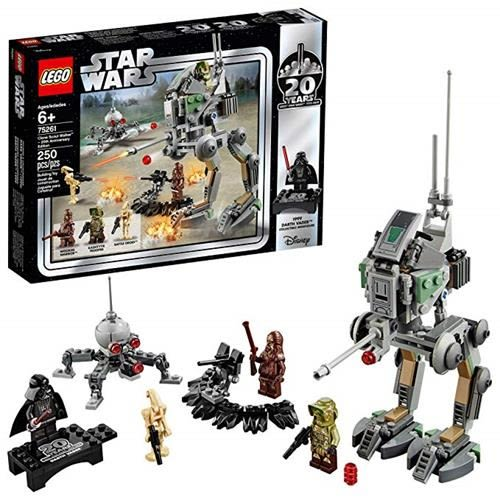 LEGO 樂高 Star Wars Clone Scout Walker-20th Anniversary Edition 75261 Building Kit (250 Piece)