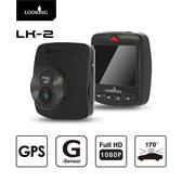 【LOOKING】LK-2 汽車行車紀錄器 FHD 1080P 170度前視超廣角 WDR寬動態 GPS+行駛路徑軌跡