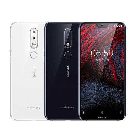 【Nokia 6.1 Plus (4G/64G) 5.8吋 全螢幕 智慧型手機】(X6) 前後 1600 萬畫素 AI 鏡頭