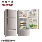 原廠好禮送★【SANLUX 三洋】528公升變頻三門冰箱SR-C528CV1