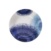 日本藍印圓缽14cm漩渦