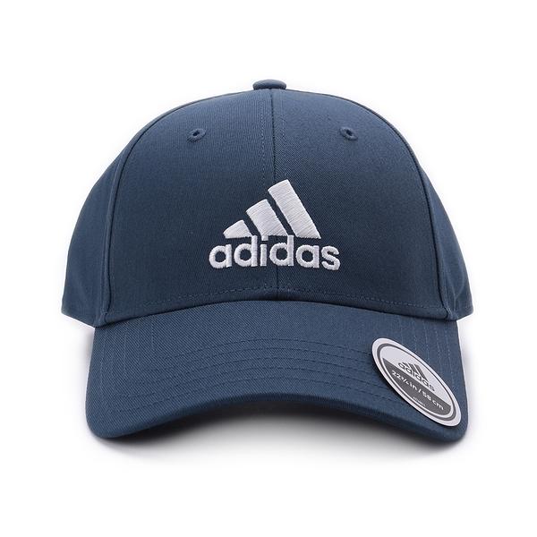 ADIDAS BBALL CAP COT 棒球帽 藍 GM6273