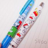 PGS7 日本史努比系列商品 - 日本 史努比 史奴比 Snoopy DelGuard 不易斷 筆芯 自動鉛筆【SHJ71663】
