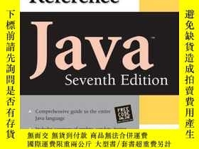 二手書博民逛書店Java罕見The Complete Reference, Seventh EditionY255562 He