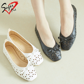 Sugar pie-韓版芭蕾質感透氣平底包鞋 #893-72