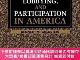 二手書博民逛書店Interest罕見Groups, Lobbying, And Participation In America奇