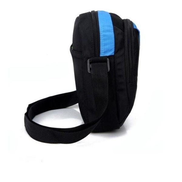 正韓新款單肩包男士休閒運動背包豎款斜背包女包斜跨小包包男包