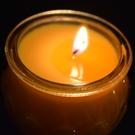 植物酥油燈24小時平口蓮花燈佛教