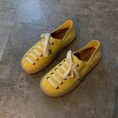 淺口單鞋女潮鞋夏款新款百搭休閒學生夏季平底豆豆鞋漁夫鞋子 童趣屋