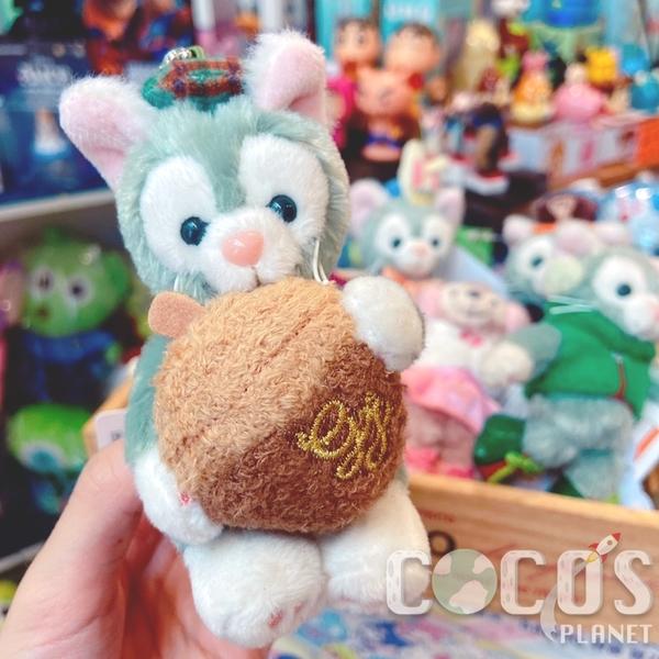 日本東京迪士尼 海洋樂園限定 2019Duffy 秋天森林限定 坐姿 絨毛娃娃吊飾 COCOS TN650