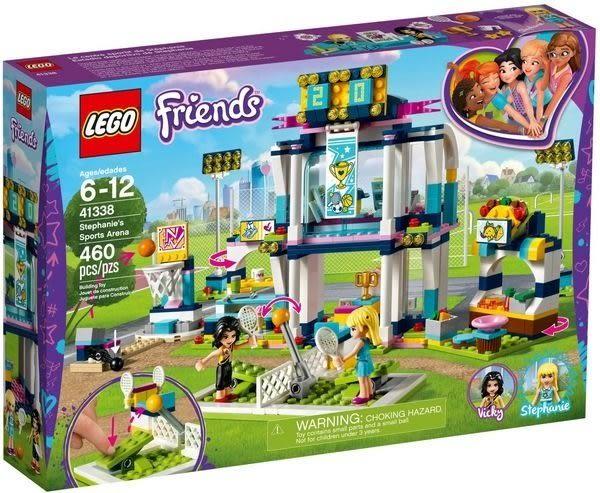 【LEGO樂高】 FRIENDS 斯蒂芬妮的體育場 41338