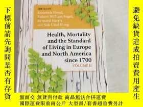 二手書博民逛書店Health罕見Mortality and the Standard of Living in Europe an