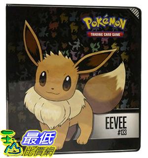 [美國直購] 神奇寶貝 精靈寶可夢周邊 Pokemon Eevee 2 3-Ring Binder 收藏夾不含卡片收納套