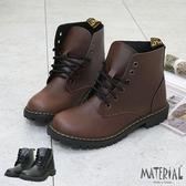 短靴 高質感復古綁帶短靴 MA女鞋 T7704