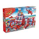 消防系列 NO.8355消防總指揮部(與樂高Lego相容)大盒【BanBao邦寶積木楚崴】