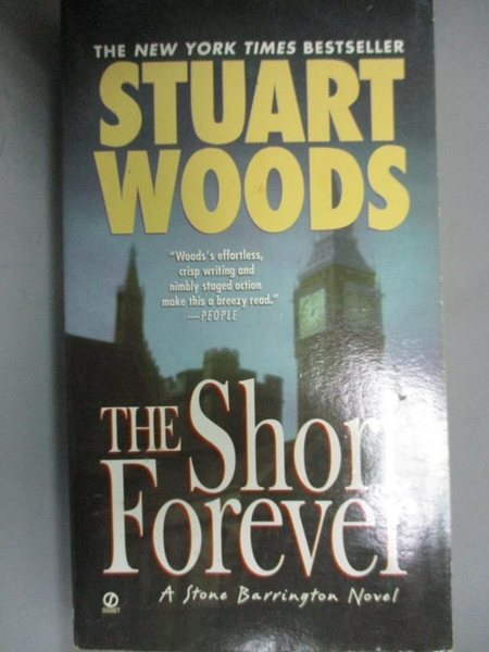 【書寶二手書T3/原文小說_HOB】The Short Forever_Woods, Stuart