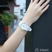手錶女韓版簡約休閒防水潮時尚學院風女生手錶新款「多色小屋」