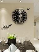 歐式鐘表掛鐘客廳現代大氣石英鐘