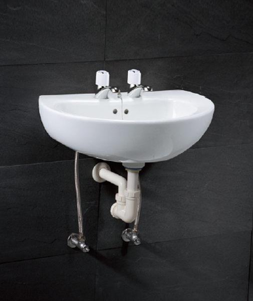 《修易生活館》 凱撒衛浴 CAESAR 面盆系列 面盆 L2150 DH 龍頭 B037 C-D
