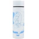 Marimo 細身輕量保溫保冷不鏽鋼隨手瓶 120ml 迪士尼 愛麗絲 公主房間 白_ FT29599