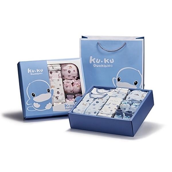 KUKU 酷咕鴨 北歐迷境森林包巾豪華禮盒 16件組 KU2779〔衛立兒生活館〕