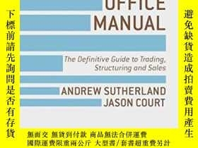 二手書博民逛書店The罕見Front Office Manual: The Definitive Guide To Trading