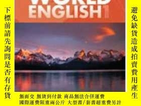 二手書博民逛書店World罕見English Middle East Edition 1: Combo Split A + Cd-
