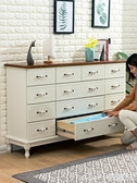 【榮耀3C】斗櫃實木斗櫃簡約現代收納抽屜式斗櫥客廳儲物櫃臥室櫃子美式斗櫃