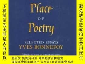 二手書博民逛書店The罕見Act And The Place Of Poetry